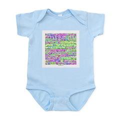 Pastel Lilacs #37 Infant Creeper