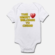 This Heart: Cesar (D) Infant Bodysuit
