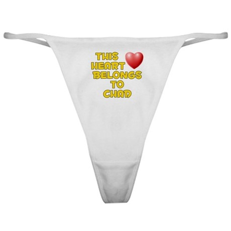 This Heart: Chad (D) Classic Thong