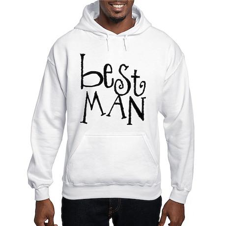 Best Man Graffiti Hooded Sweatshirt