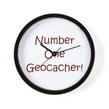 #1 Geocacher! Wall Clock