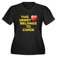 This Heart: Chase (D) Women's Plus Size V-Neck Dar