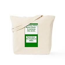 German Babel Fish Tote Bag