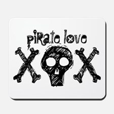 Pirate Love XOX Mousepad