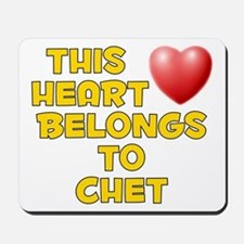 This Heart: Chet (D) Mousepad