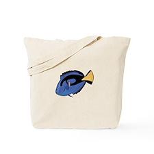 Single Blue Tang Tote Bag