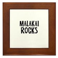 Malakai Rocks Framed Tile