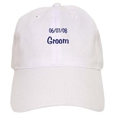 June 7th 2008 Groom Baseball Cap