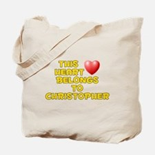 This Heart: Christopher (D) Tote Bag