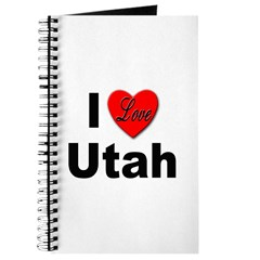 I Love Utah for Utah Lovers Journal