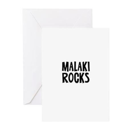 Malaki Rocks Greeting Cards (Pk of 10)