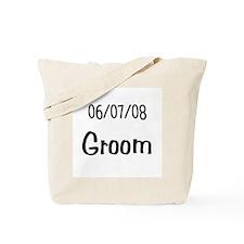 June 7th 2008 Groom Tote Bag