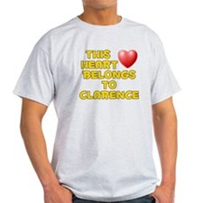 This Heart: Clarence (D) T-Shirt