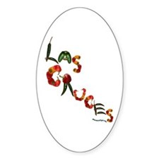Las Cruces Oval Decal