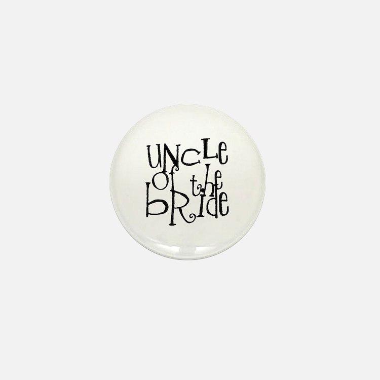 Uncle of the Bride Graffiti Mini Button