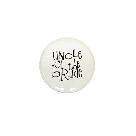 Uncle of the Bride Graffiti Mini Button (10 pack)