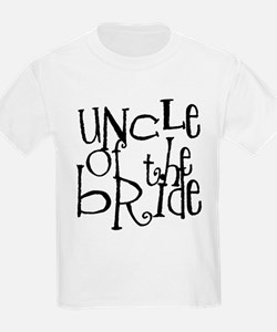 Uncle of the Bride Graffiti T-Shirt