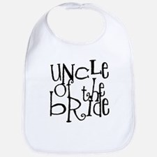 Uncle of the Bride Graffiti Bib