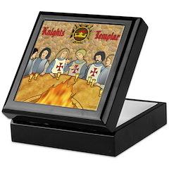 Tales From the Knights Templar Keepsake Box