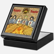 Tales From the Knights Templar Keepsake Box