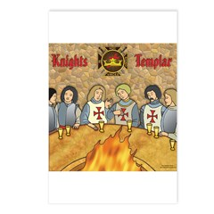 Tales From the Knights Templar Postcards (Package