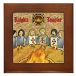 Tales From the Knights Templar Framed Tile