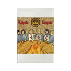 Tales From the Knights Templar Rectangle Magnet (1
