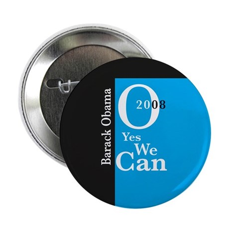 Yes we can obama button by creativethought for Bett yes we can