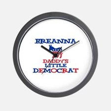 Breanna - Daddy's Little Demo Wall Clock
