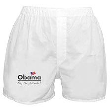 Obama: Si, Se Puede! Boxer Shorts