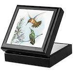 Rufous Hummingbirds Keepsake Box