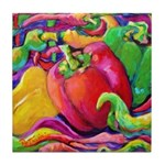 Peppers Tile Coaster