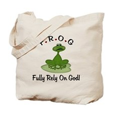 Fully Rely on God Tote Bag