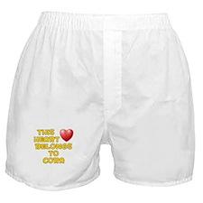 This Heart: Cora (D) Boxer Shorts