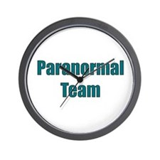 Paranormal Team Wall Clock