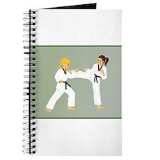 Cute Judo girl Journal