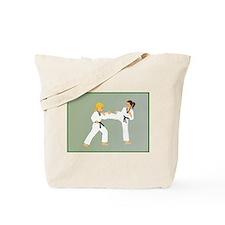 Cool Judo girl Tote Bag