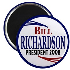 Bill Richardson 2008 (Magnet)