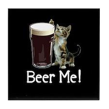 Beer Me! Tile Coaster