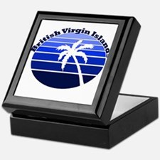 British Virgin Islands Keepsake Box