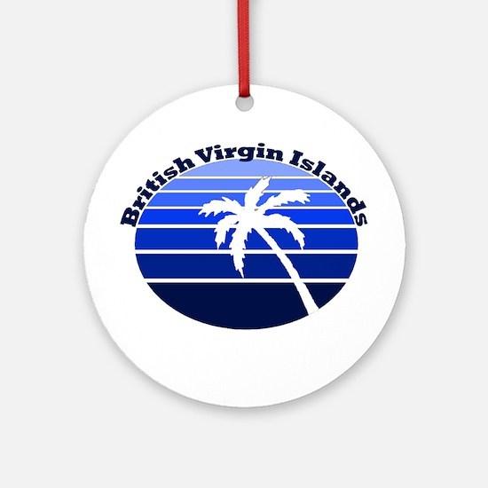 British Virgin Islands Ornament (Round)