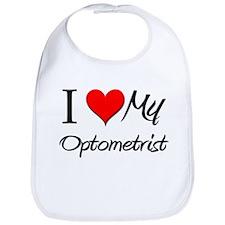 I Heart My Optometrist Bib