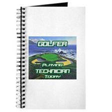 """""""Golfer Playing Technician Today"""" Journal"""