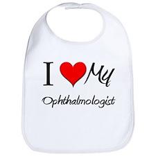 I Heart My Ophthalmologist Bib