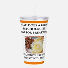 Profession joke Acrylic Double-wall Tumbler