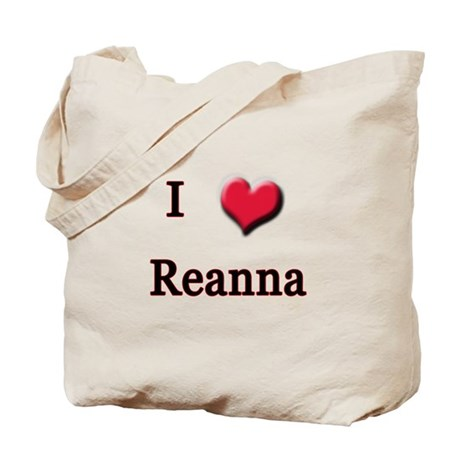 I Love (Heart) Reanna Tote Bag