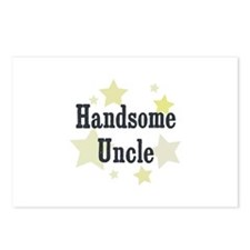 Handsome Uncle Postcards (Package of 8)