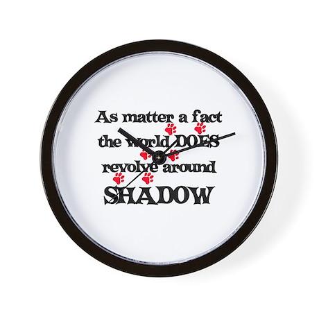 The World Revolves Around Sha Wall Clock