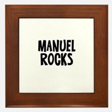 Manuel Rocks Framed Tile