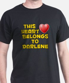 This Heart: Darlene (D) T-Shirt